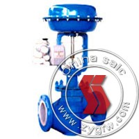 pneumatic piston adjusting butterfly valve