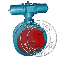 pneumatic flanged butterfly valve